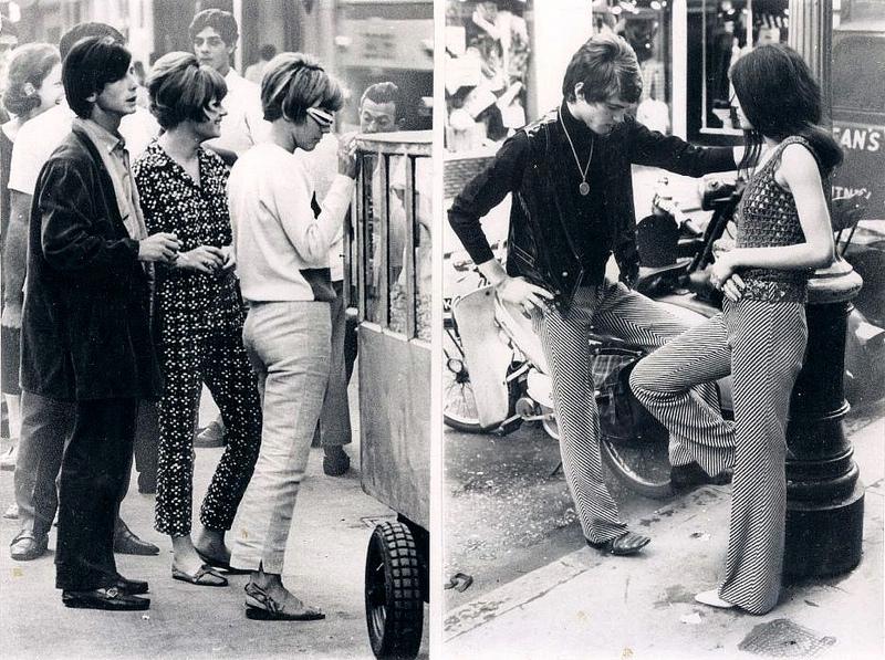 Vintage Inspiration ♥ Swinging 60s London Street Fashion ...
