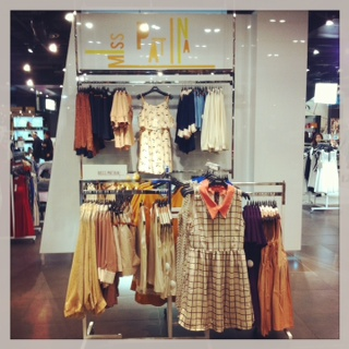 Brand New Look Concession in Topshop, Oxford Circus