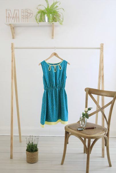 Loop the Loop Dress (green) (1)