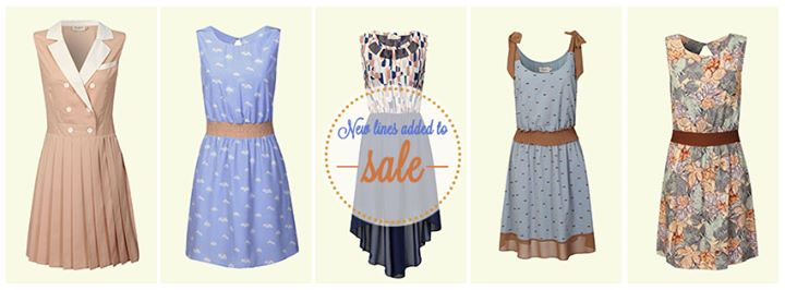 New Lines have been added to the Sale