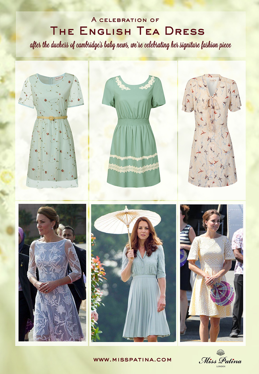 A celebration of the English Tea Dress - Miss Patina ...