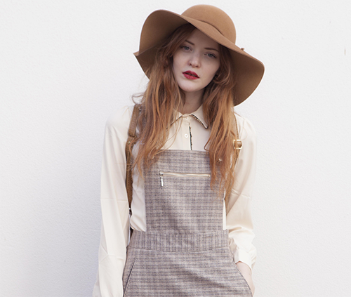 How to style – Portobello Pinafore
