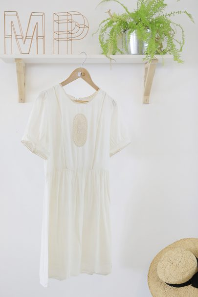 Austen Dress (White) (2)