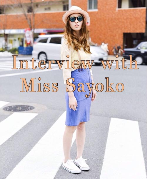 Style Inspiration: An Interview with Brittany's Designer Miss Sayoko