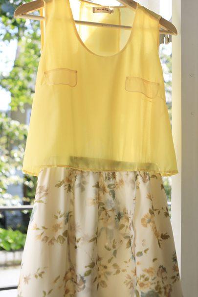 New Slice of Summer Dress (Yellow) (3)