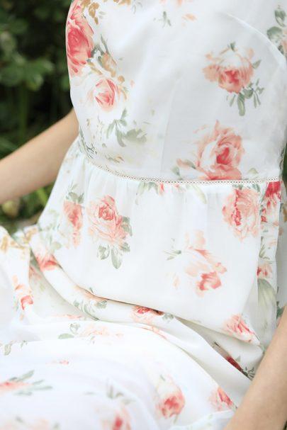 Garden Maze Dress (Cream) (1)