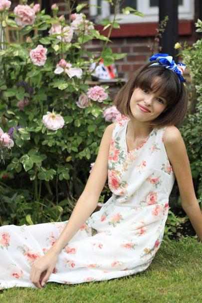 Garden Maze Dress (Cream) (3)
