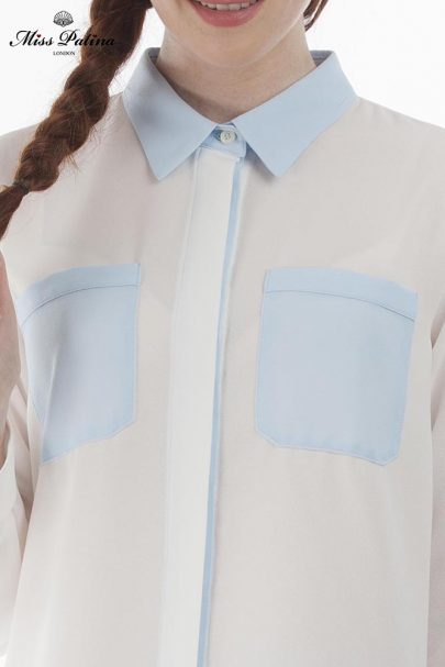 Sacre Bleu Shirt (White Blue) (2)