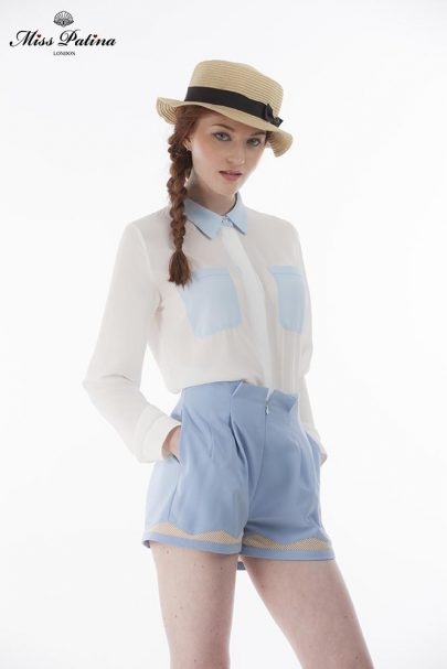 Sacre Bleu Shirt (White Blue) (3)
