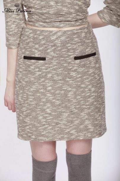 First Lady Skirt (Grey) (3)