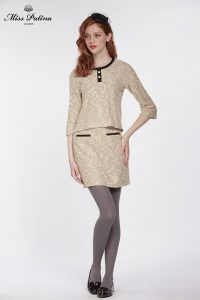 First Lady Top (Beige) (2)