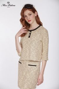 First Lady Top (Beige) (4)