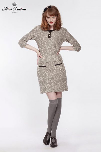First Lady Top (Grey) (2)