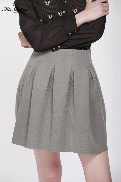 Uptown Skirt (Grey) (3)