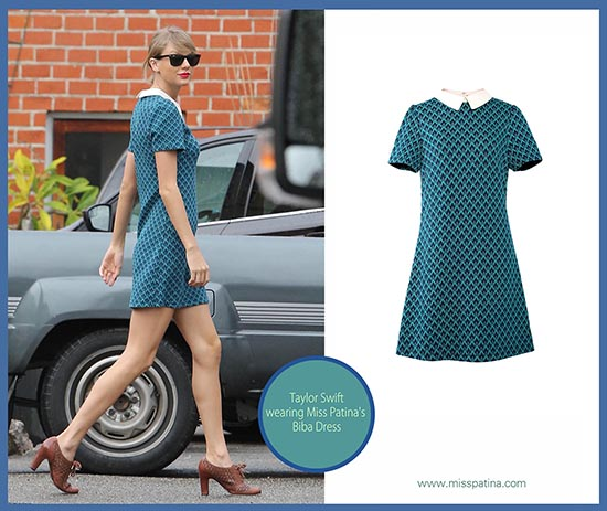 Spotted: Taylor Swift Wearing Miss Patina