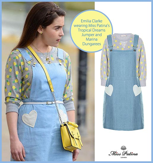 Spotted: Emilia Clarke Wearing Miss Patina