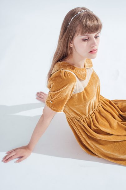 National Velvet Dress (toffee) (2)