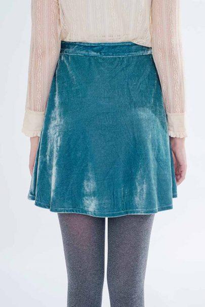 Velvet Dream Skirt (Mint) (1)