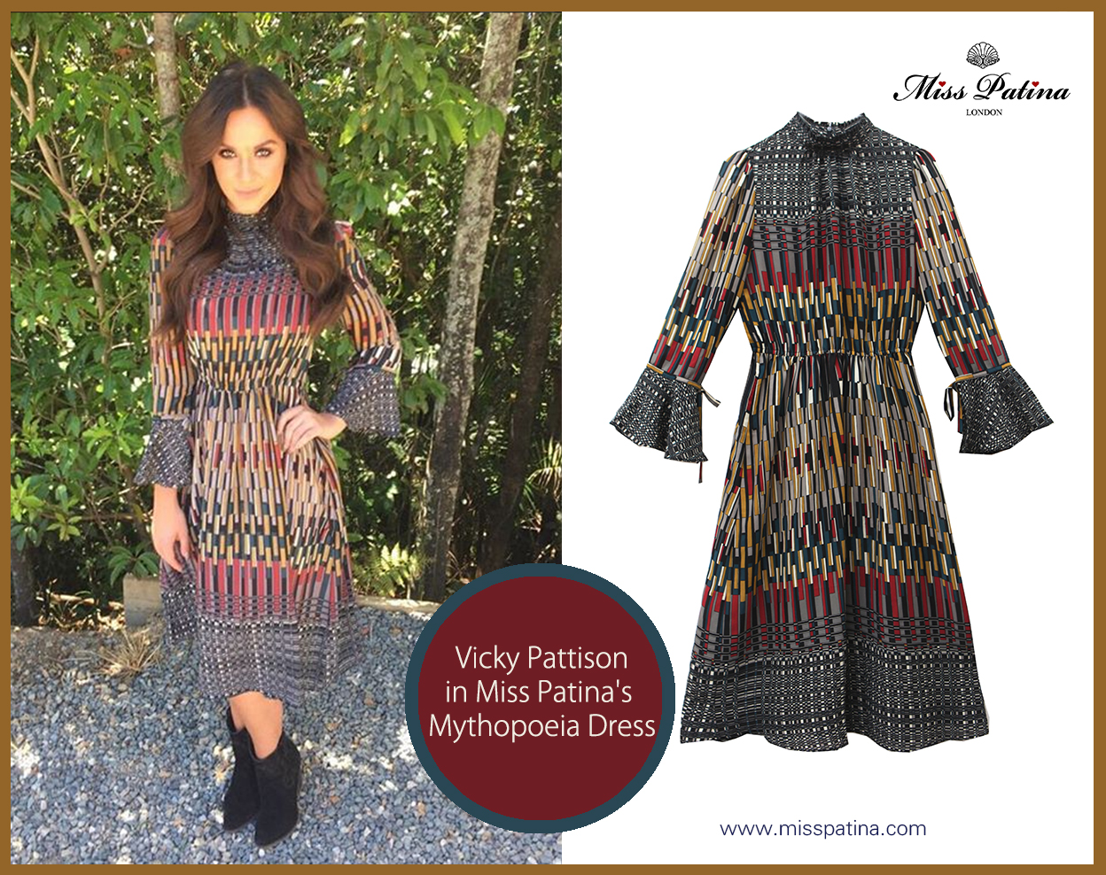 Spotted! Vicky Pattison in Miss Patina!