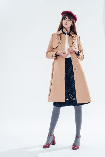 Ailurophile Trench Coat (2)