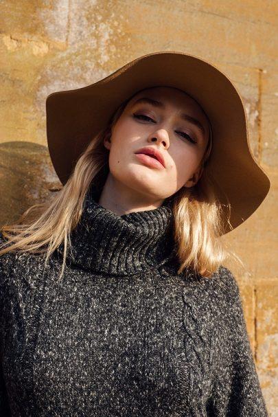 Portree Chunky Knit Dress (2)