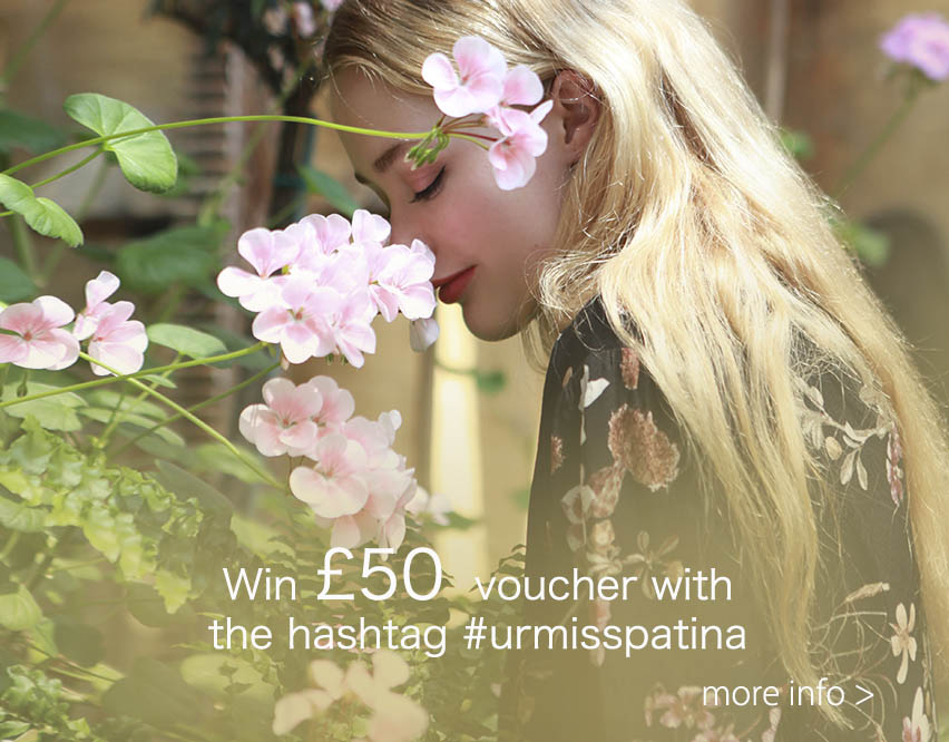 Win £50 voucher with sharing Miss Patina style!