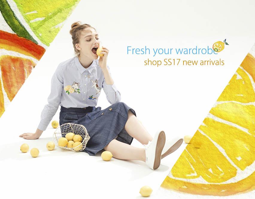 SS17 fresh wardrobe