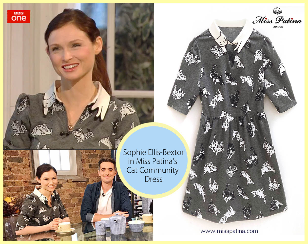 Spotted: Sophie Ellis-Bextor in Miss Patina!