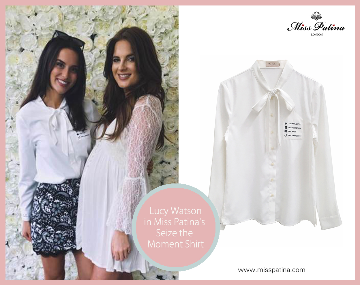 Spotted: Lucy Watson in Miss Patina!