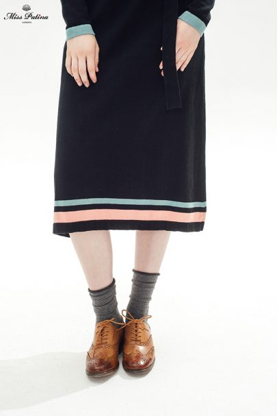 Girl About Town Dress (Black) (7)