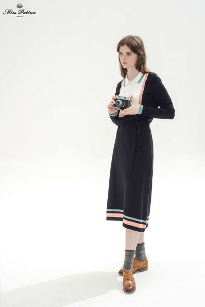 Girl About Town Dress (Black) (8)