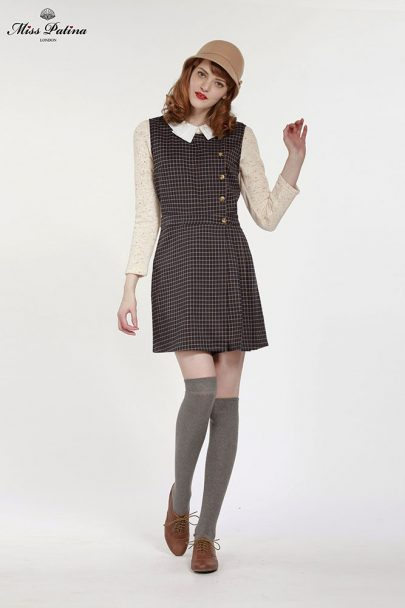 Primrose Pinafore (Check) (5)