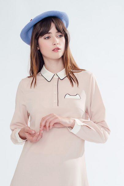 Work of Art Dress (Pink) (5)