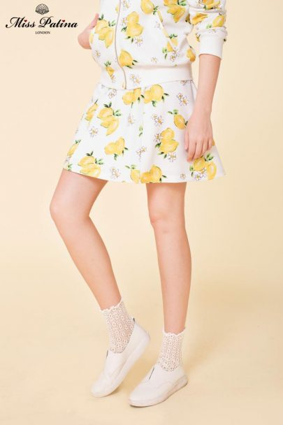 The Bombshell Skirt (Lemon) (2)