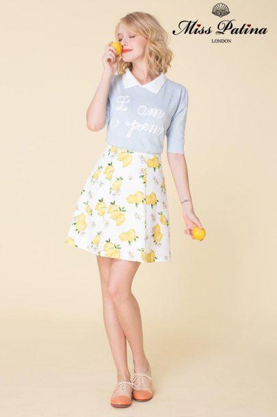 The Bombshell Skirt (Lemon) (6)