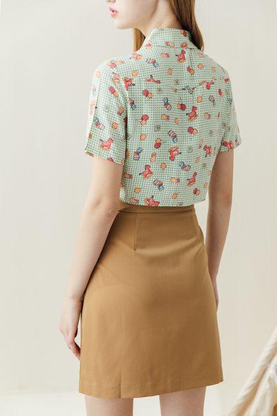 Picnic Skirt (Earthy Brown) (4)