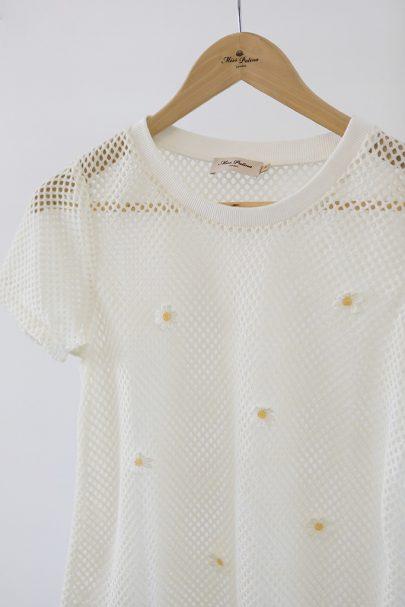 Confetti Kisses Top (white) 1