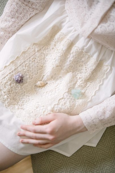 Stand Out Lace Skirt (White) 3