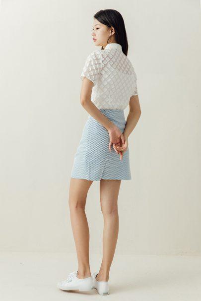 The Sweetheart Skirt (Baby Blue) (1)