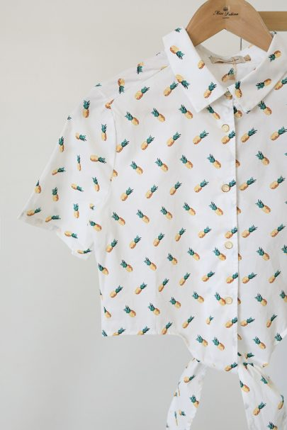 Tie the Knot Shirt (Pineapple) (3)