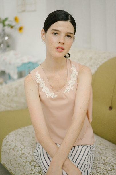Paper Doll Top (Pale Pink) 06