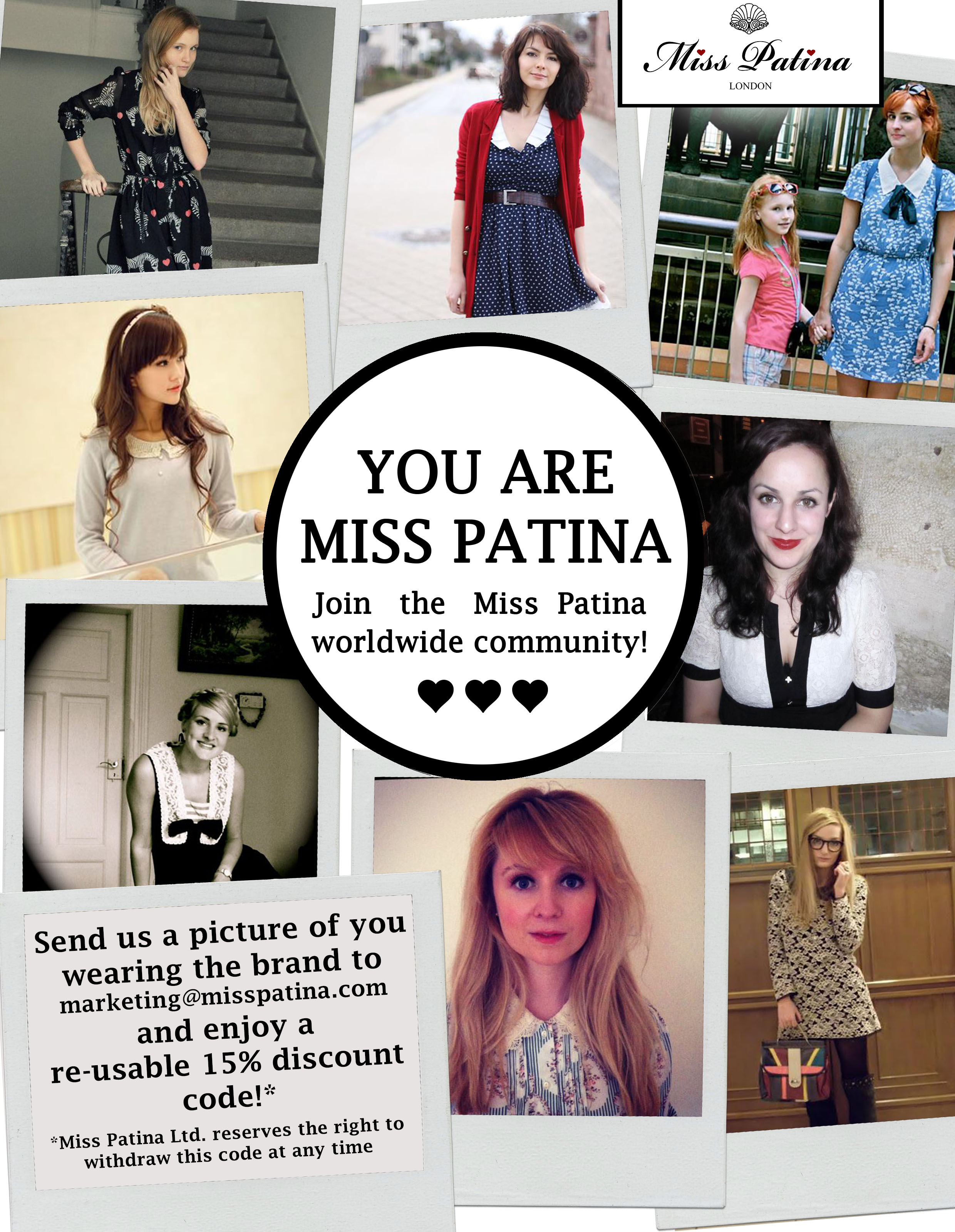 Are you Miss Patina?