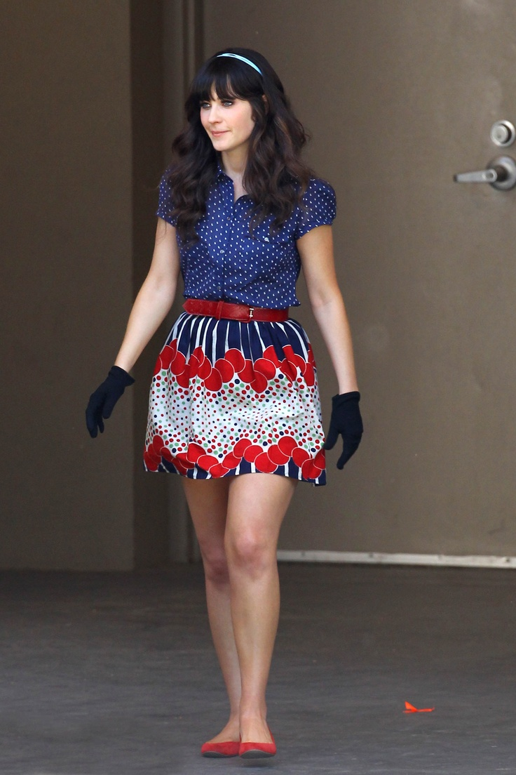 557068aace ♥ Style Love ♥ Zooey Deschanel – Miss Patina