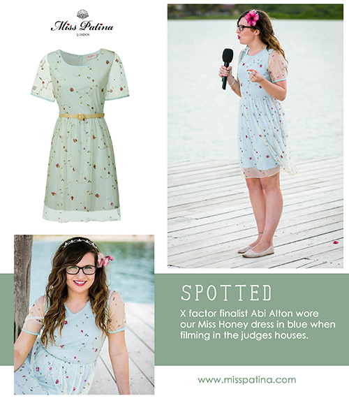 Spotted: Abi Alton wearing Miss Patina