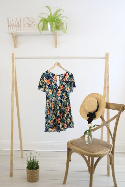 Bouquet Playsuit (Tropical) (1)