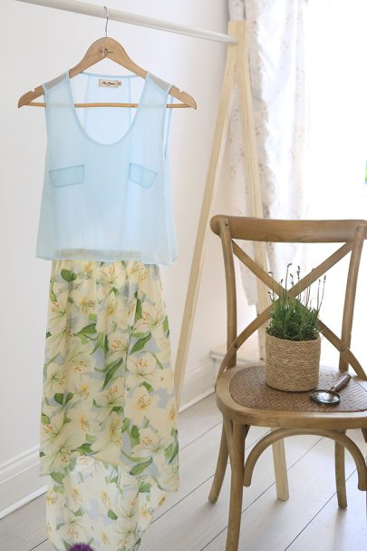 New Slice Of Summer Dress (Sky Blue) (2)