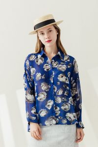 Rose Pop Shirt (BLUE) 1