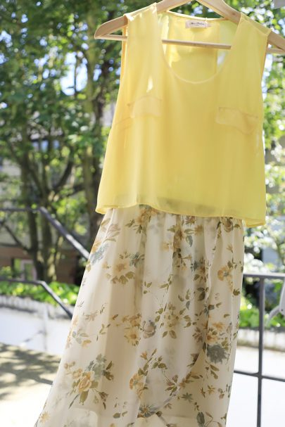 New Slice of Summer Dress (Yellow) (2)