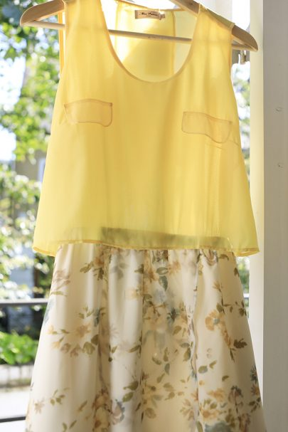 New Slice of Summer Dress (Yellow) (3)