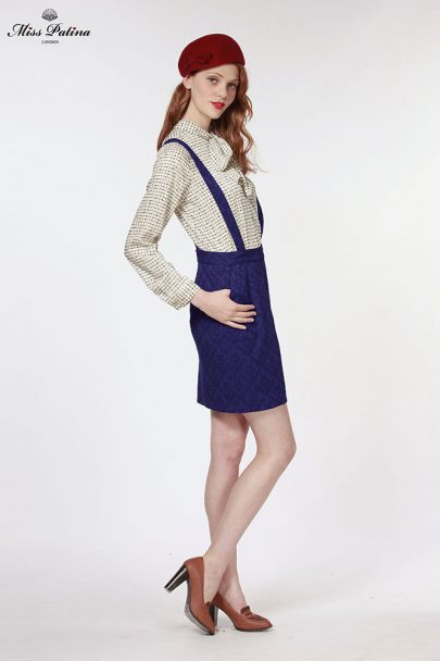 Miss Adelaide Dungarees (Navy) (4)